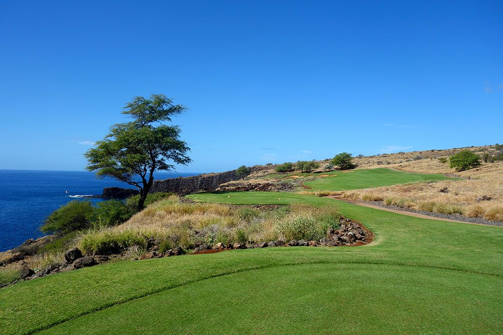 13th Hole at Manele Golf Course (345 Yard Par 4)