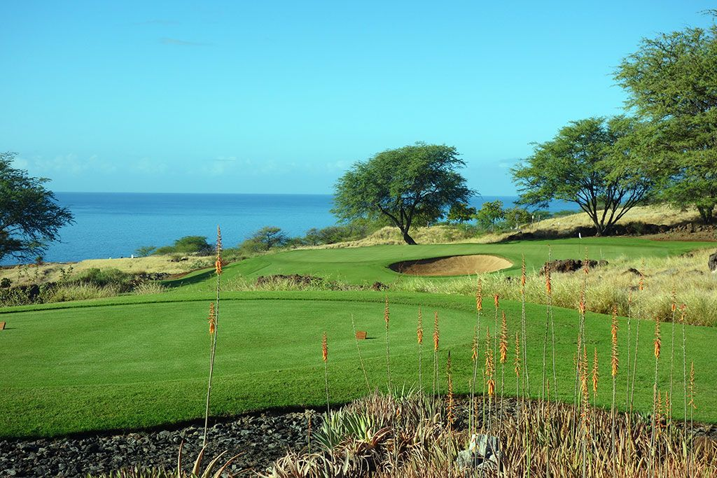 3rd Hole at Manele Golf Course (171 Yard Par 3)