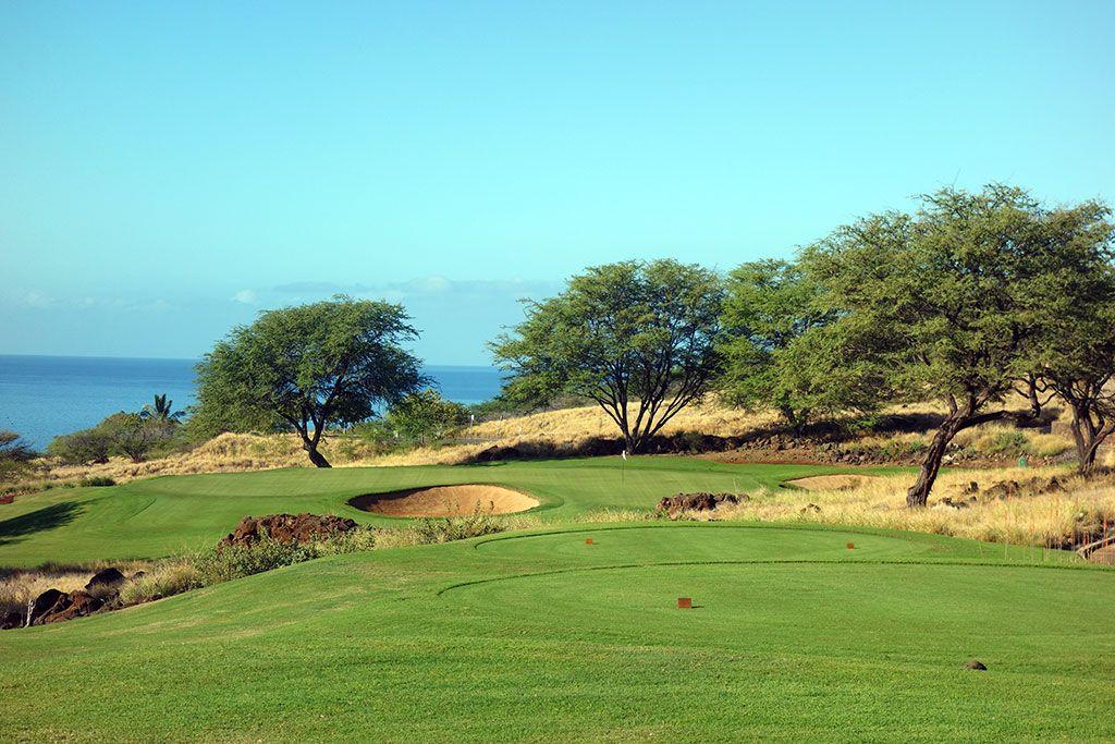 3rd Hole at Manele Golf Course (171 Yard Par 3)