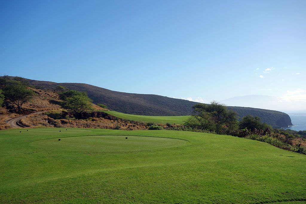 5th Hole at Manele Golf Course (462 Yard Par 4)