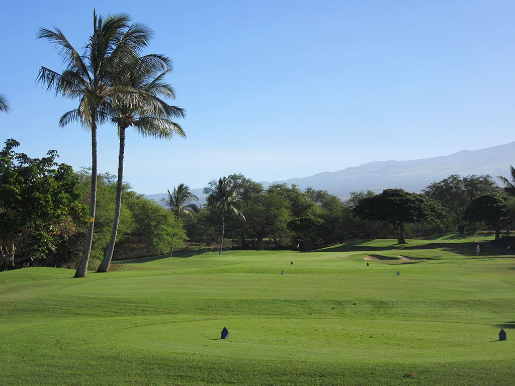 3rd Hole at Maui Nui Golf Course (146 Yard Par 3)