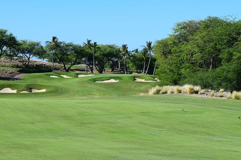 10th Hole at Mauna Kea Resort (567 Yard Par 5)