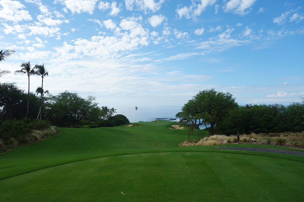 11th Hole at Mauna Kea Resort (250 Yard Par 3)
