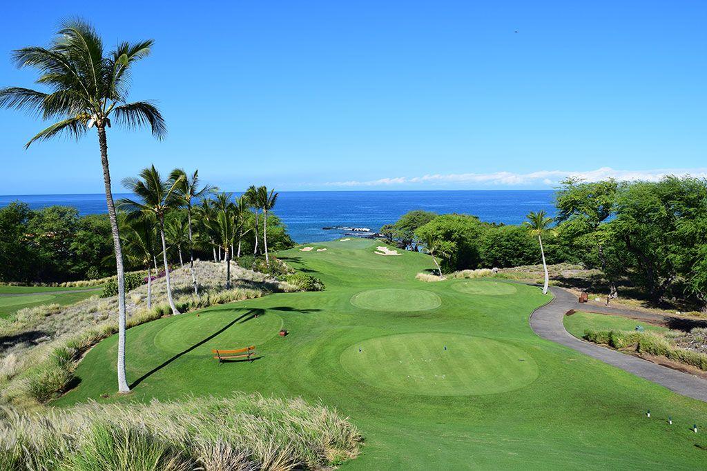 11th Hole at Mauna Kea Resort (250 Yard Par 3)