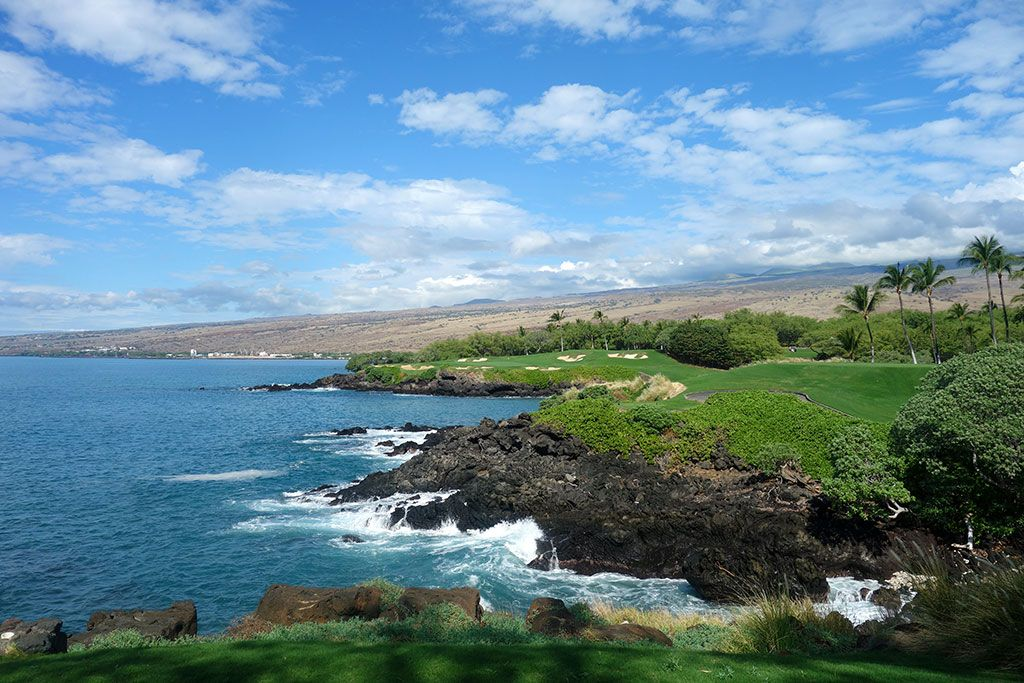 3rd Hole at Mauna Kea Resort (273 Yard Par 3)
