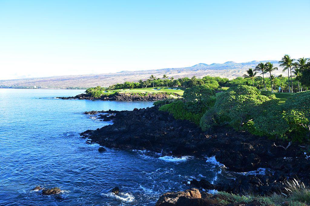 3rd Hole at Mauna Kea Resort (273 Yard Par 3)