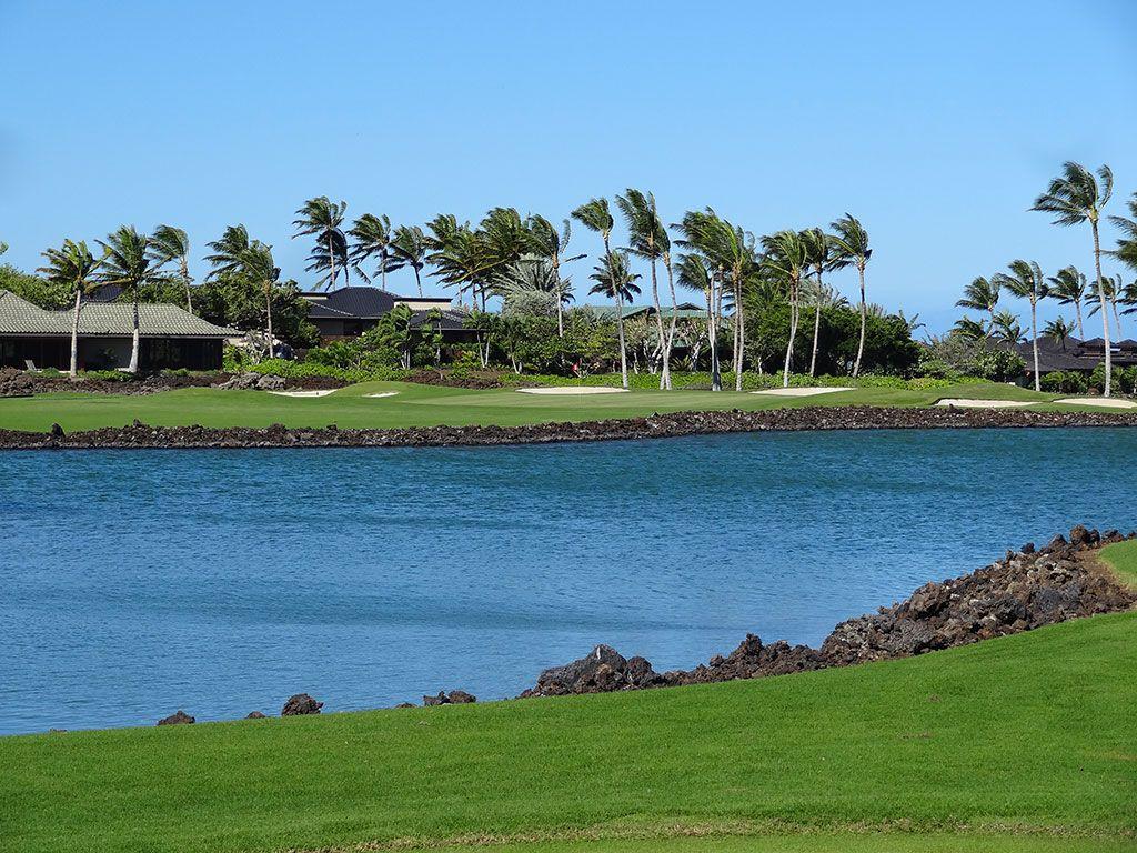 12th Hole at Mauna Lani Resort (South) (198 Yard Par 3)