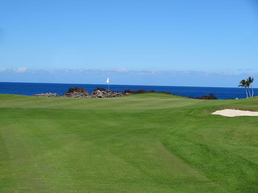 13th Hole at Mauna Lani Resort (South) (380 Yard Par 4)