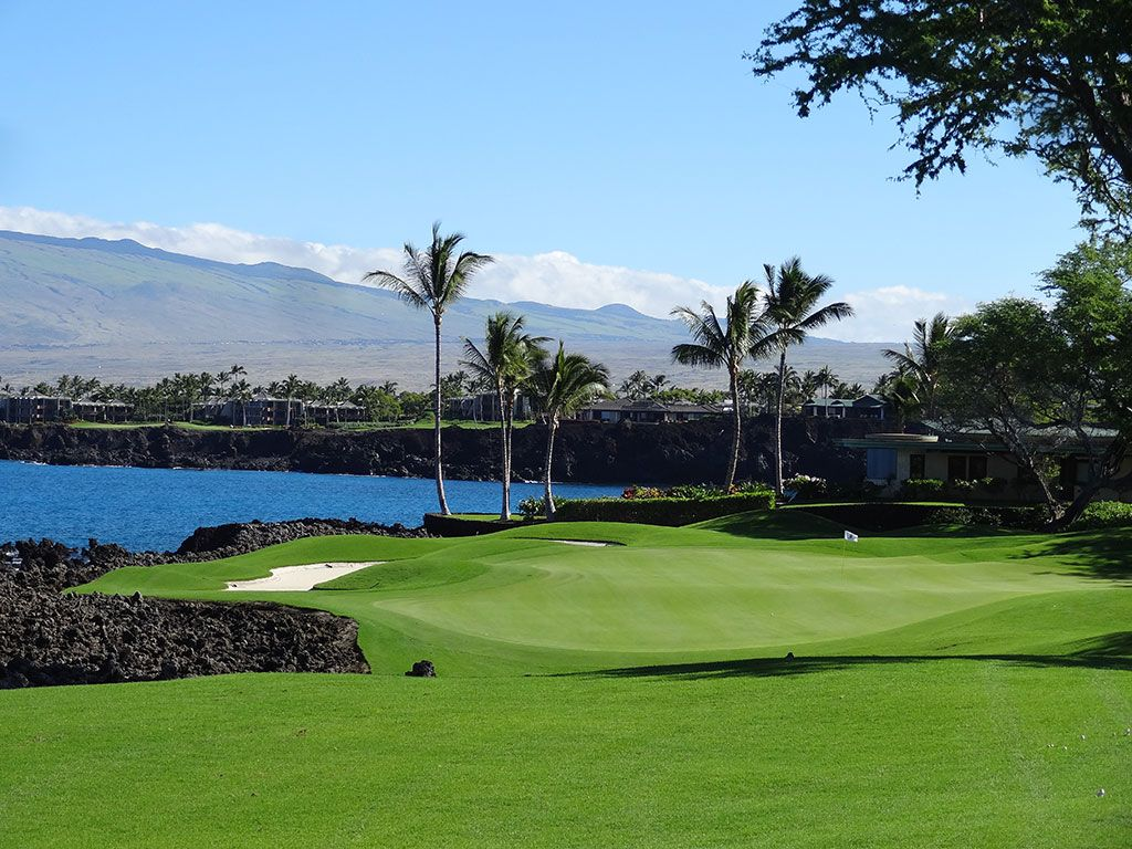 7th Hole at Mauna Lani Resort (South) (214 Yard Par 3)