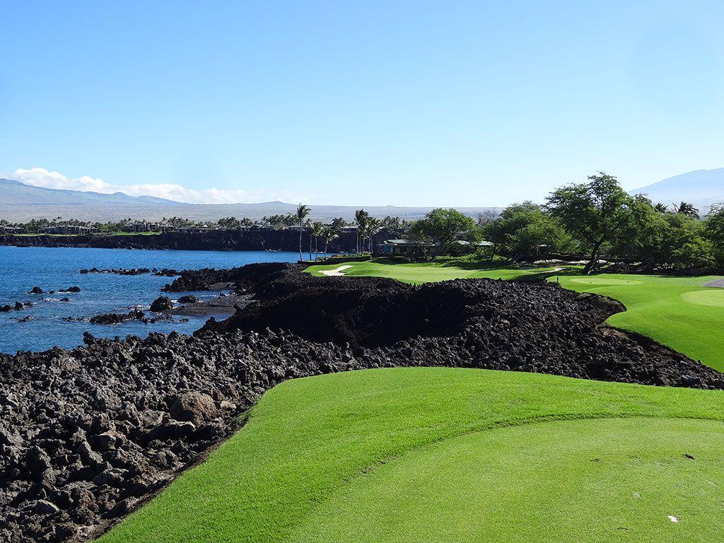 7th Hole at Mauna Lani Resort (South) (214 Yard Par 3)