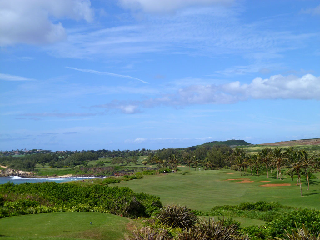 15th Hole at Poipu Bay (427 Yard Par 4)