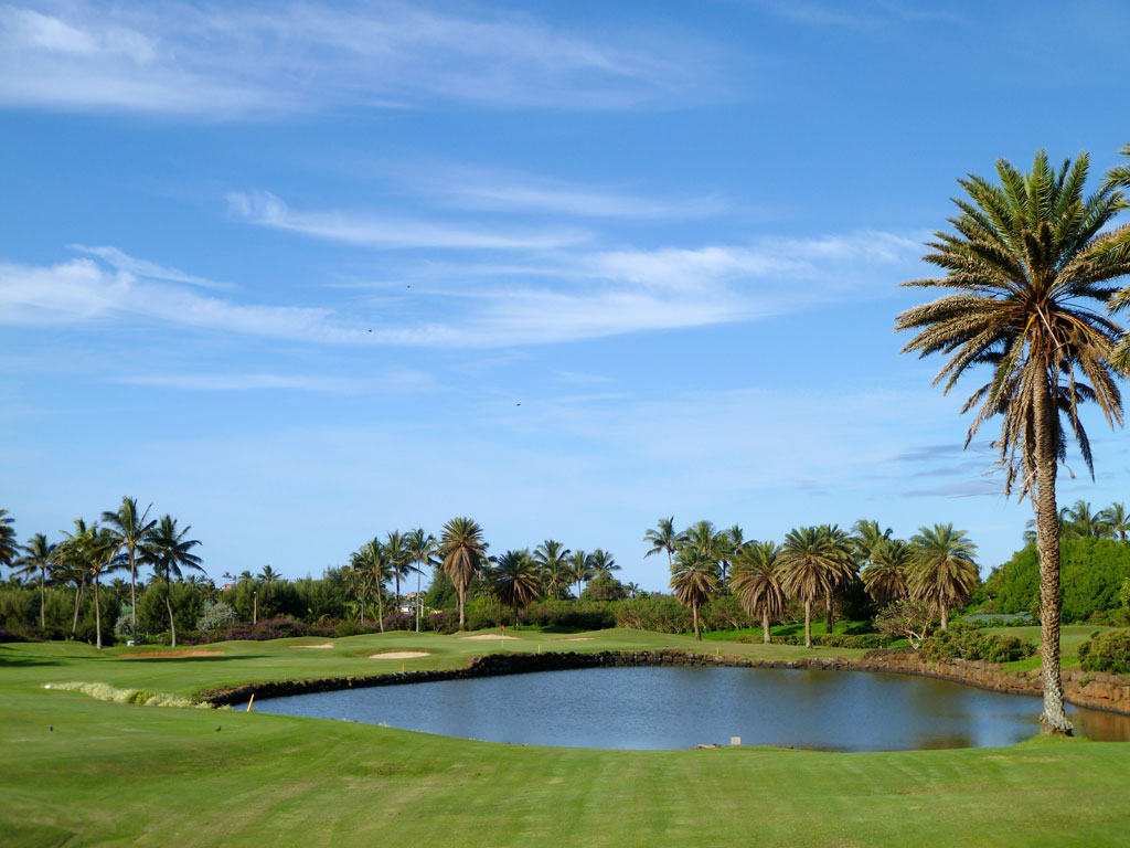 7th Hole at Poipu Bay (179 Yard Par 3)