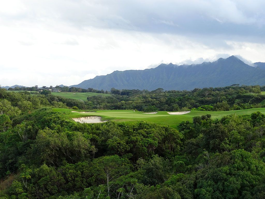 7th Hole at Princeville (Prince) Golf Course (207 Yard Par 3)