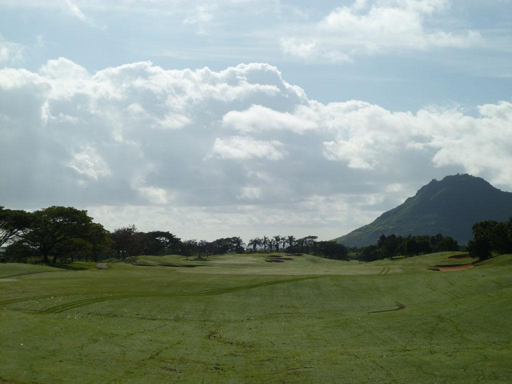 11th Hole at Puakea Golf Course Hole at Puakea Golf Course (560 Yard Par 5)