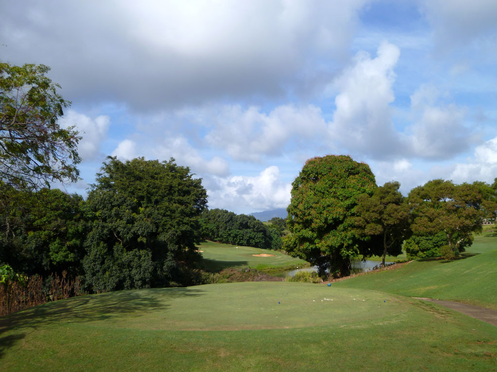 13th Hole at Puakea Golf Course Hole at Puakea Golf Course (228 Yard Par 3)