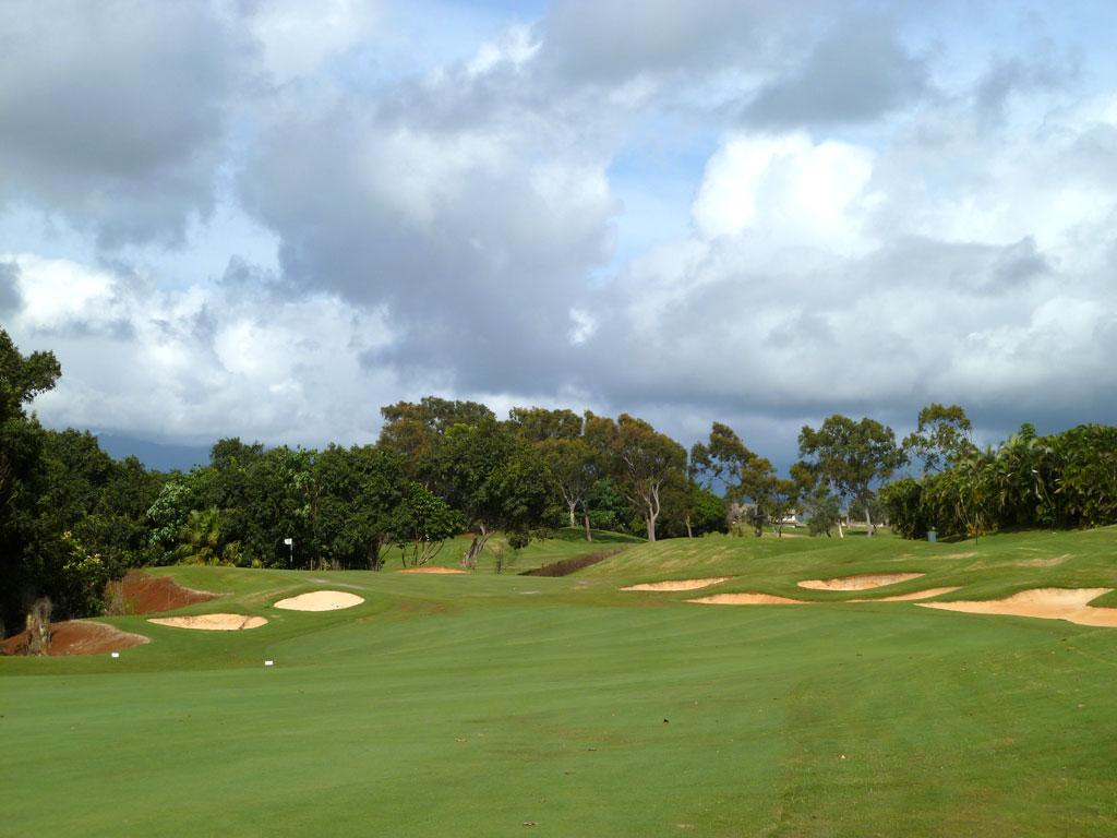 15th Hole at Puakea Golf Course Hole at Puakea Golf Course (446 Yard Par 4)