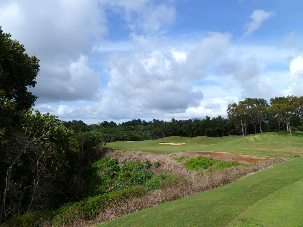 16th Hole at Puakea Golf Course Hole at Puakea Golf Course (134 Yard Par 3)