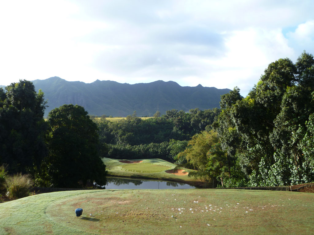 6th Hole at Puakea Golf Course Hole at Puakea Golf Course (176 Yard Par 3)