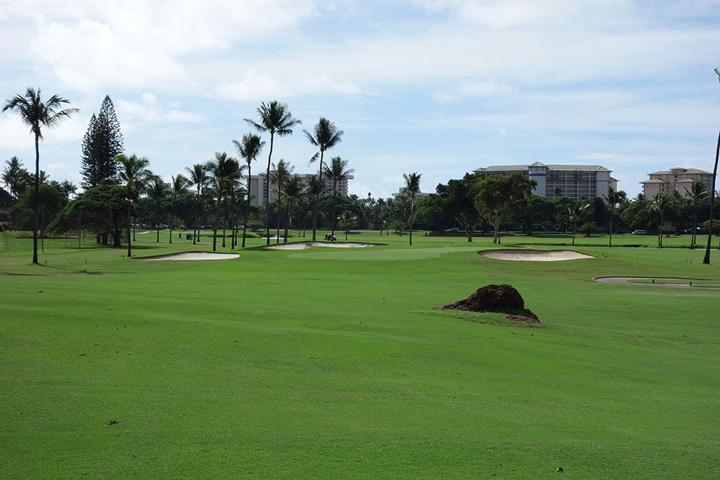 16th Hole at Royal Ka'anapali Golf Course (437 Yard Par 4)