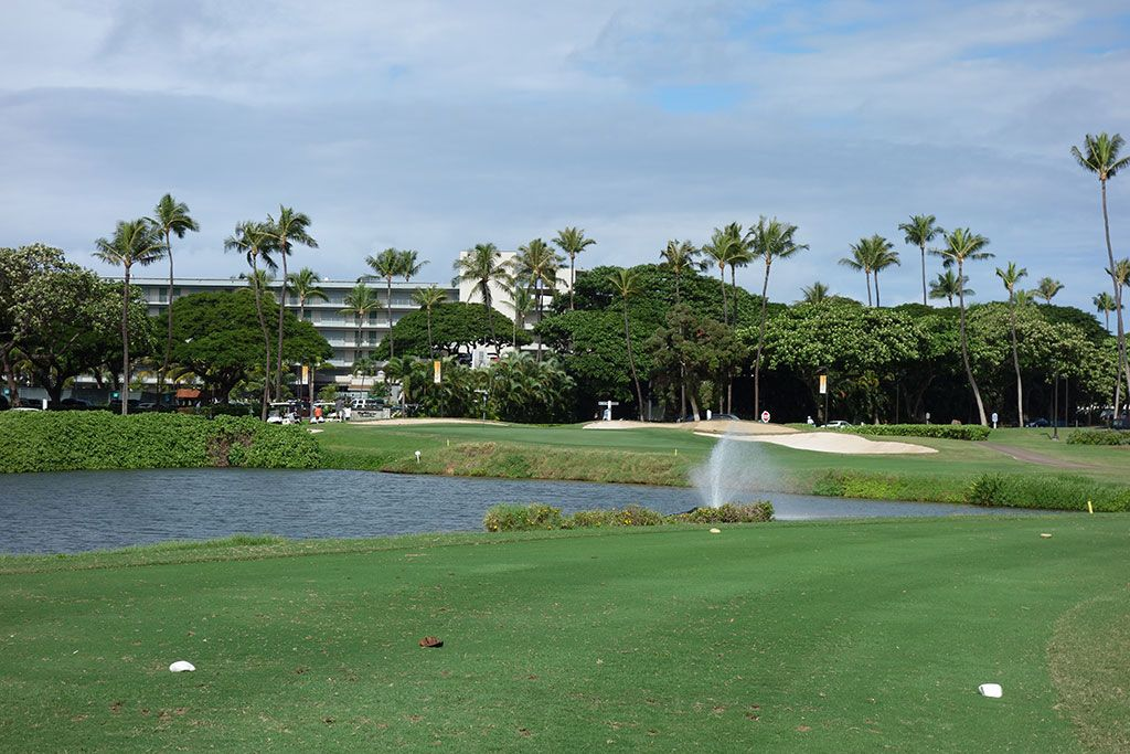 17th Hole at Royal Ka'anapali Golf Course (155 Yard Par 3)