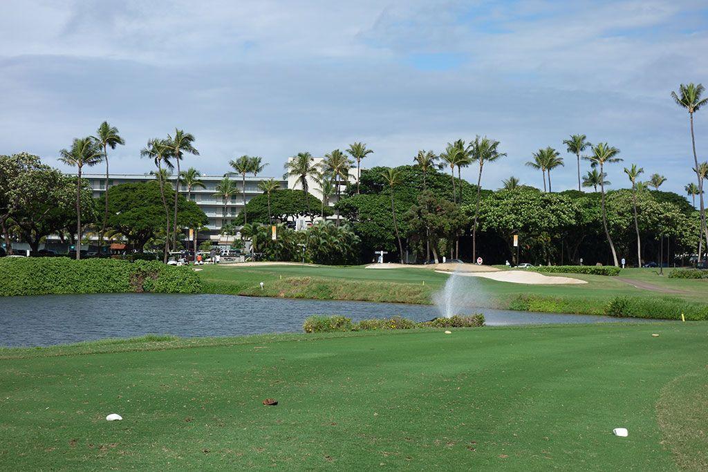 17th Hole at Royal Ka'anapali Golf Course (155 Yard Par 3)