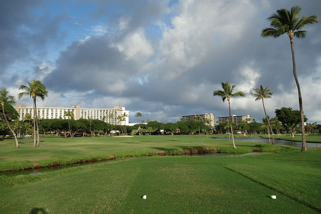 1st Hole at Royal Ka'anapali Golf Course (519 Yard Par 5)