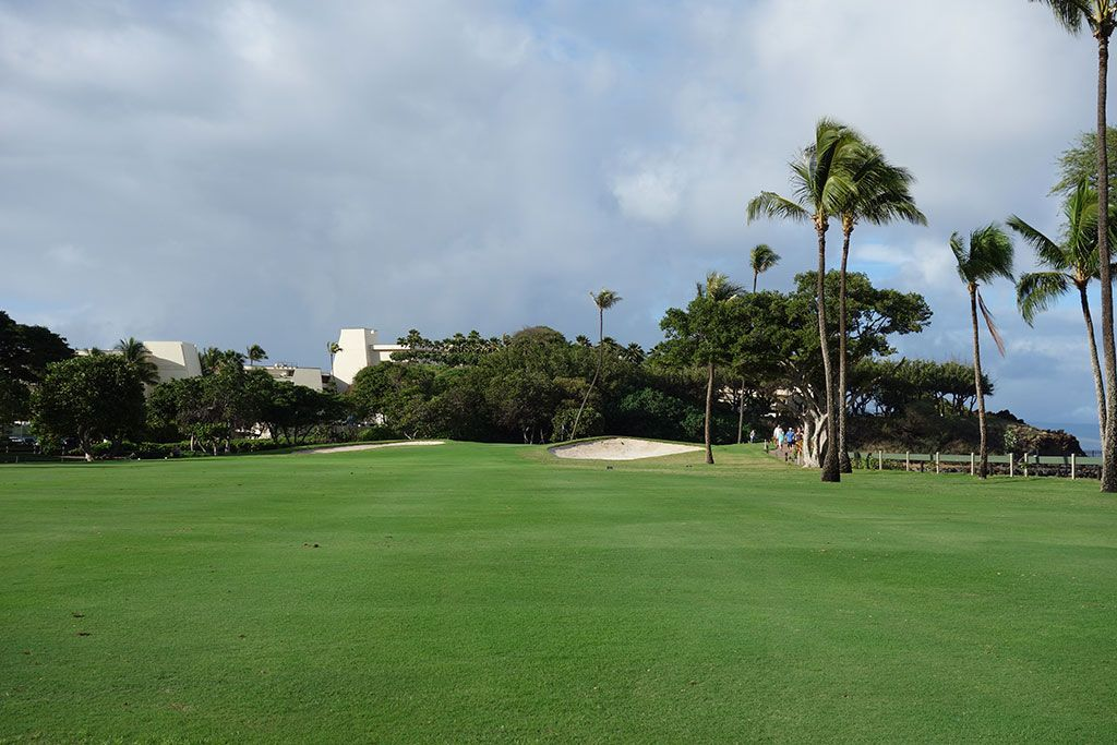 5th Hole at Royal Ka'anapali Golf Course (474 Yard Par 4)
