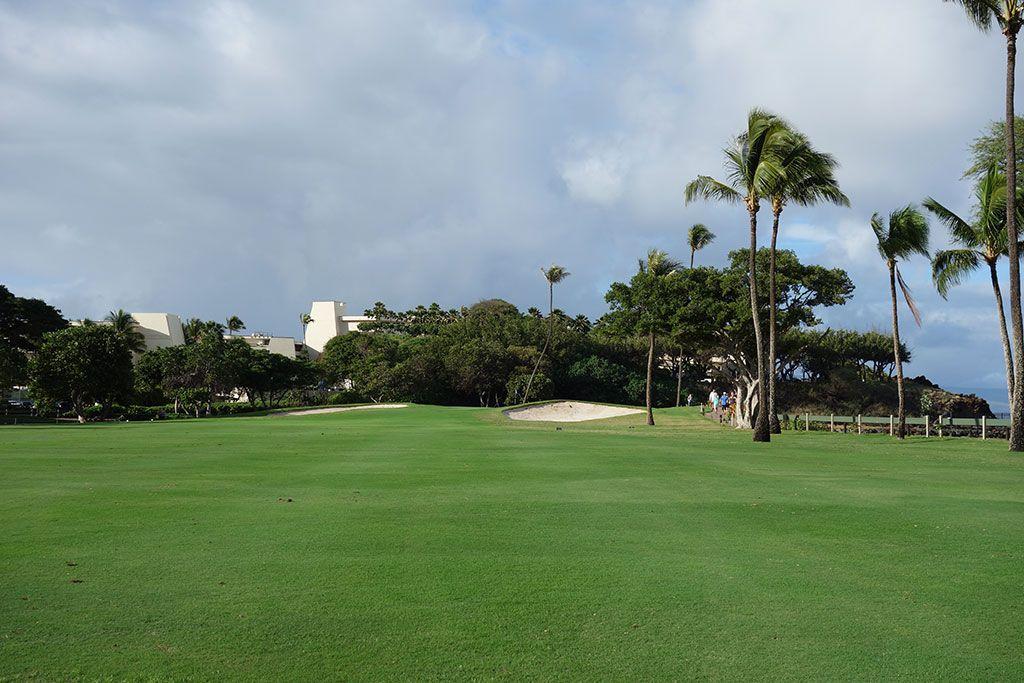 5th Hole at Royal Ka'anapali Golf Course (474 Yard Par 4)