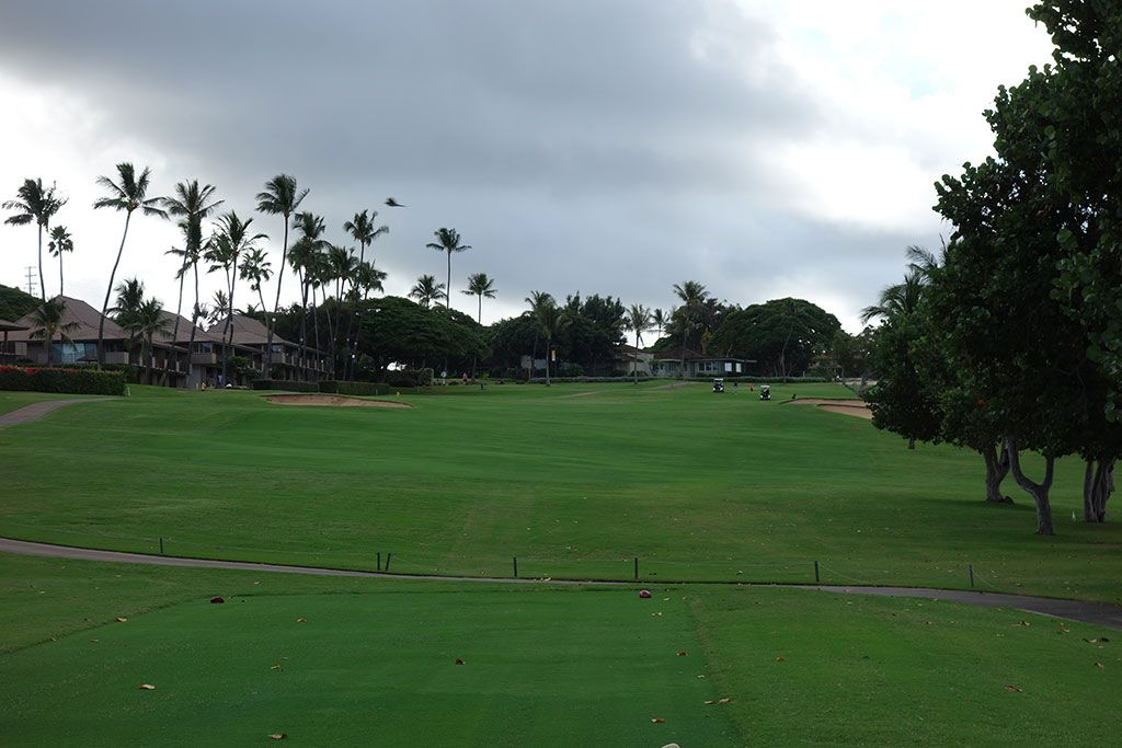 6th Hole at Royal Ka'anapali Golf Course (460 Yard Par 5)