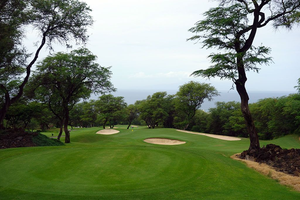 13th Hole at Wailea Resort (Emerald) (148 Yard Par 3)