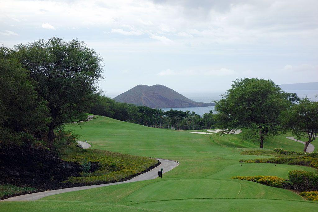 18th Hole at Wailea Resort (Emerald) (553 Yard Par 5)