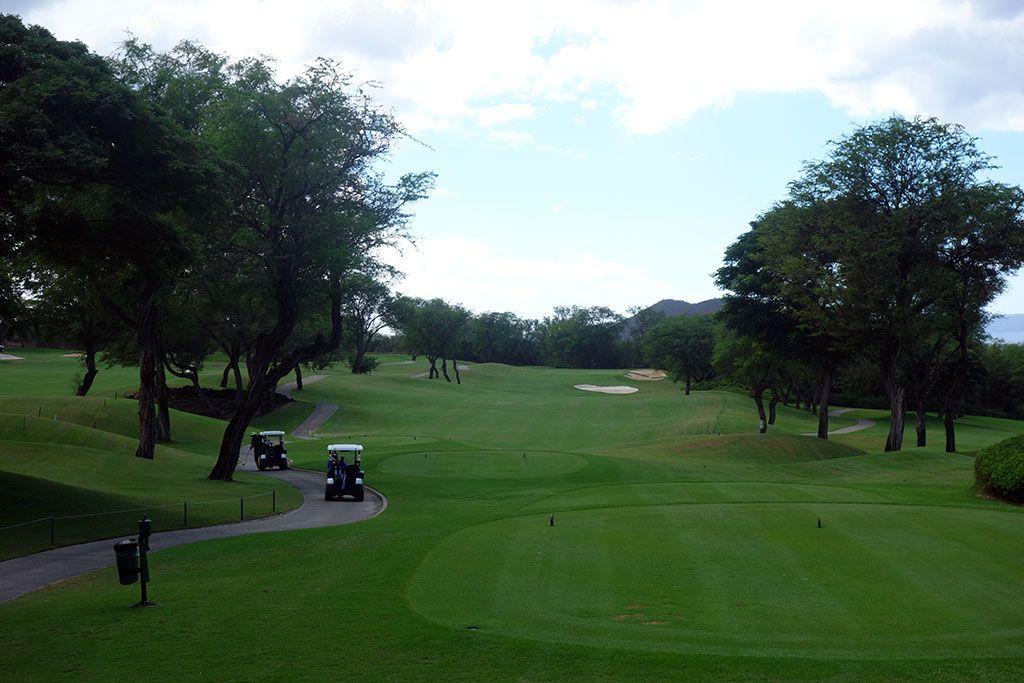12th Hole at Wailea Resort (Gold) (487 Yard Par 4)