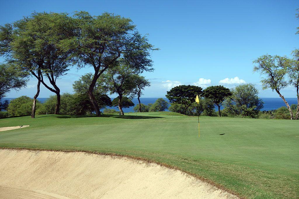 7th Hole at Wailea Resort (Gold) (590 Yard Par 5)
