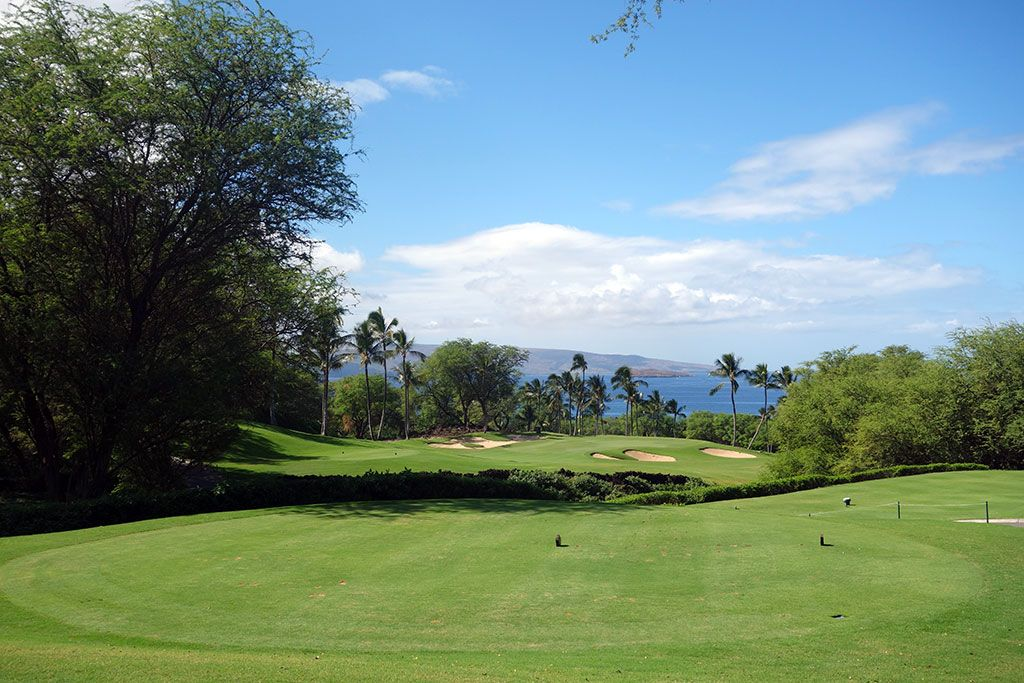 8th Hole at Wailea Resort (Gold) (216 Yard Par 3)