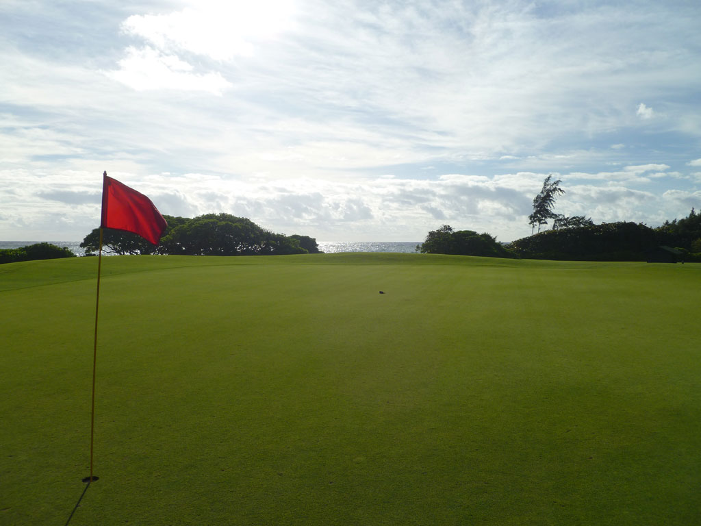 2nd Hole at Wailua (456 Yard Par 4)