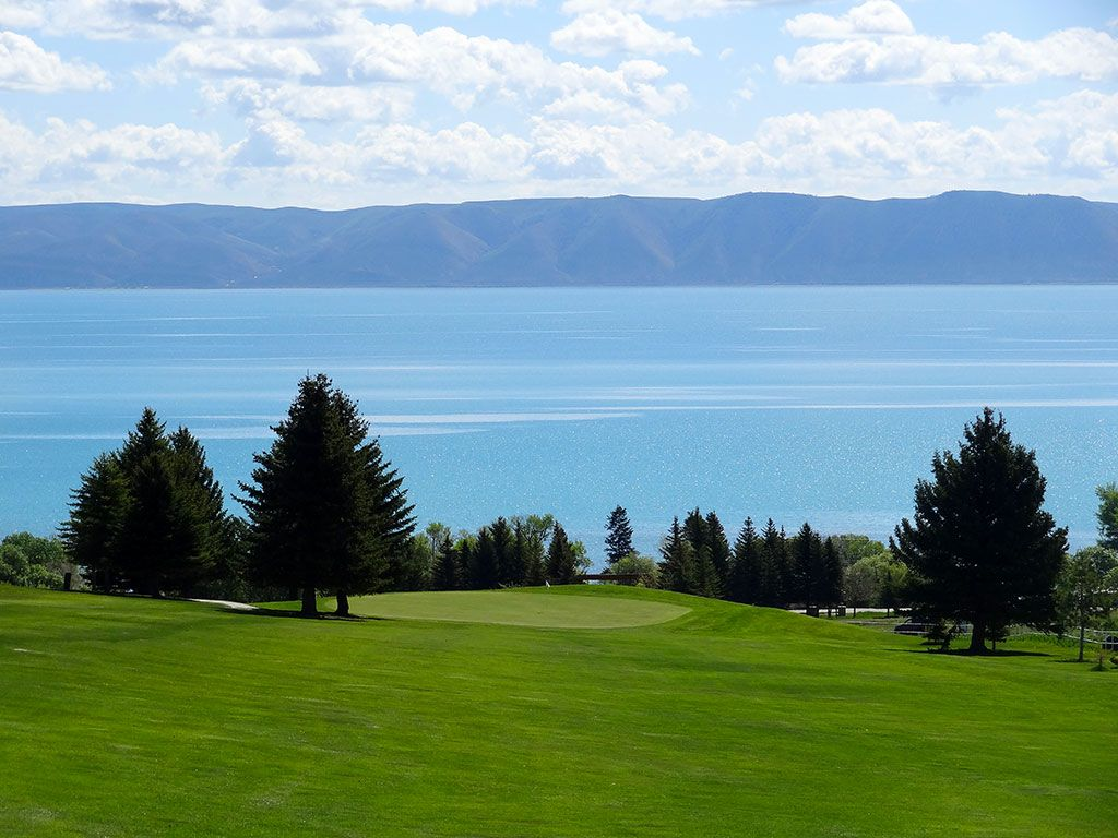 1st Hole at Bear Lake West (Idaho) (510 Yard Par 5)
