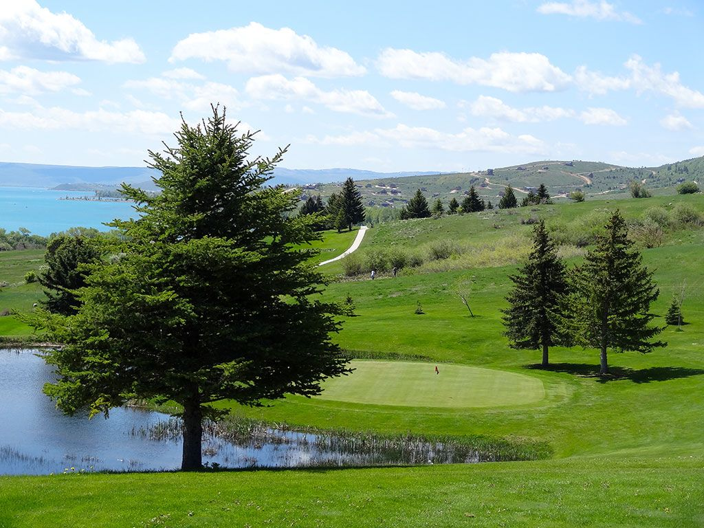 3rd Hole at Bear Lake West (Idaho) (147 Yard Par 3)