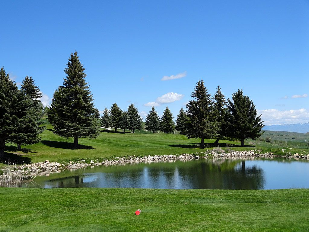 5th Hole at Bear Lake West (Idaho) (178 Yard Par 3)