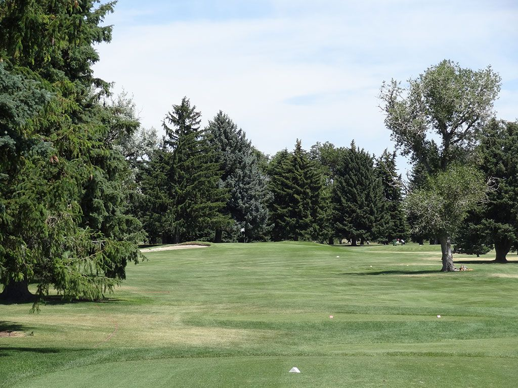 5th Hole at Blackfoot Golf Course (237 Yard Par 3)