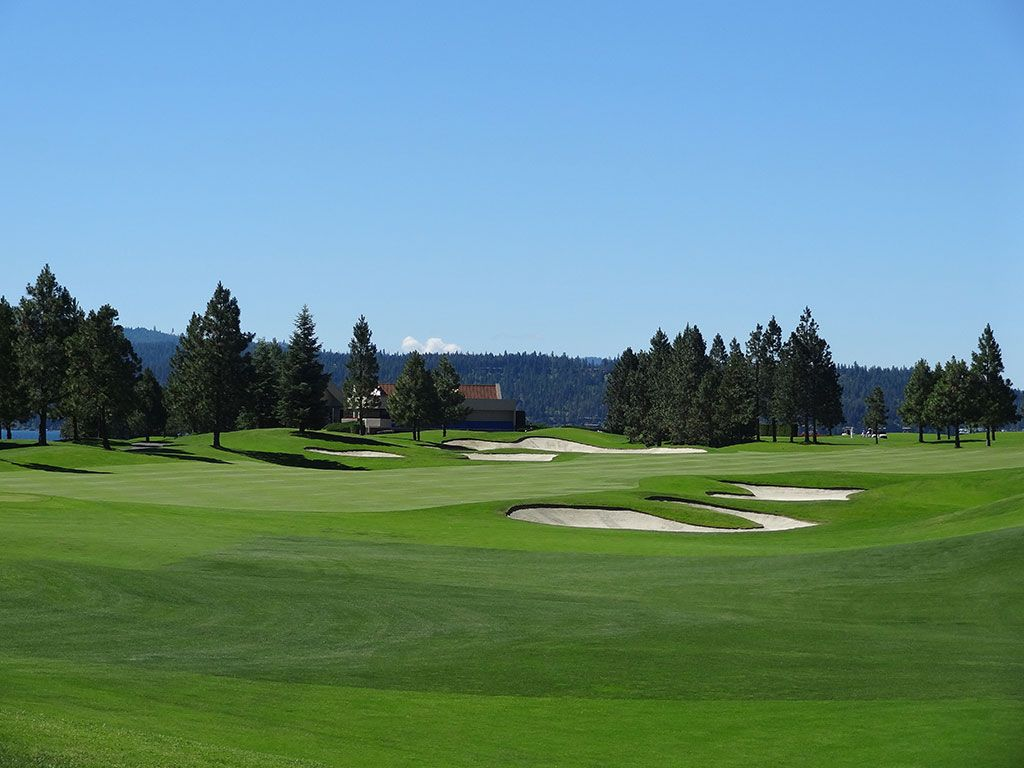 18th Hole at Coeur d'Alene Resort (482 Yard Par 4)