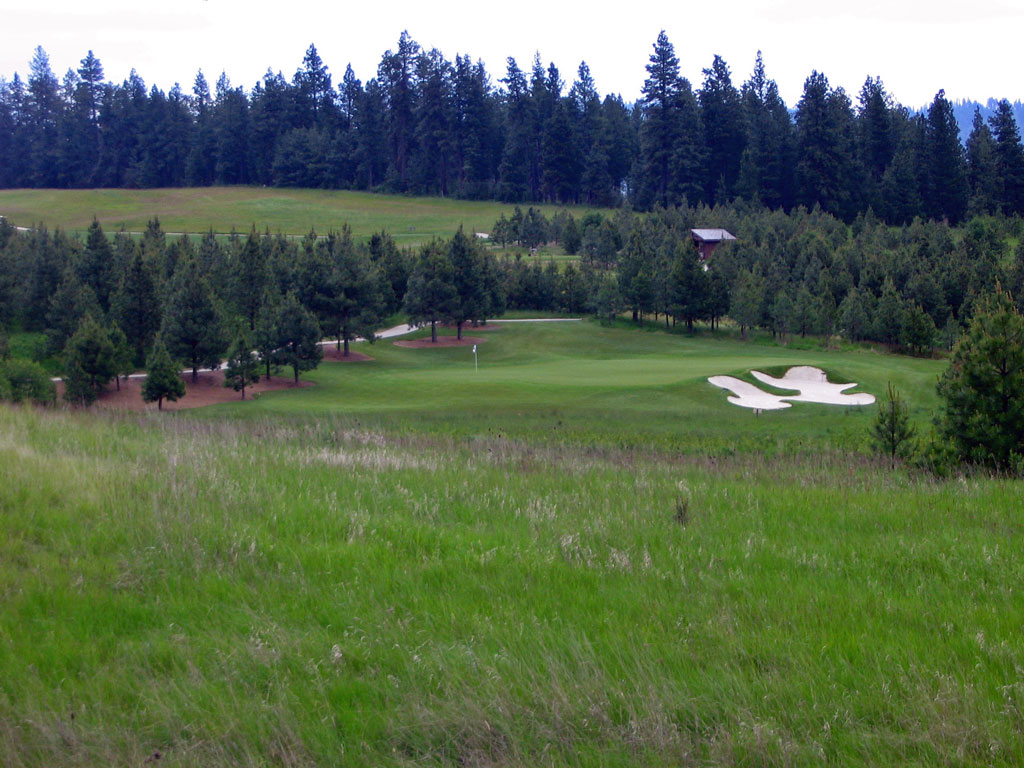 13th Hole at Circling Raven Golf Club (253 Yard Par 3)