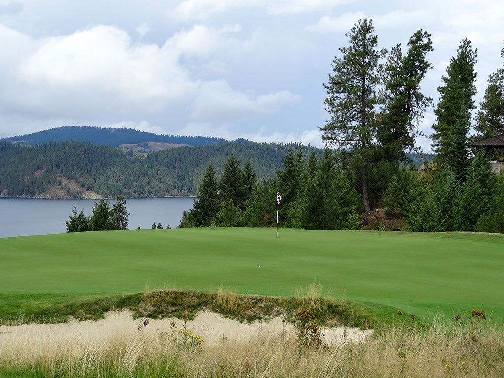 15th Hole at Gozzer Ranch Golf and Lake Club (431 Yard Par 4)