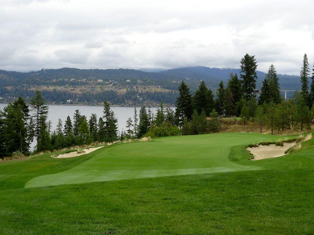 3rd Hole at Gozzer Ranch Golf and Lake Club (196 Yard Par 3)