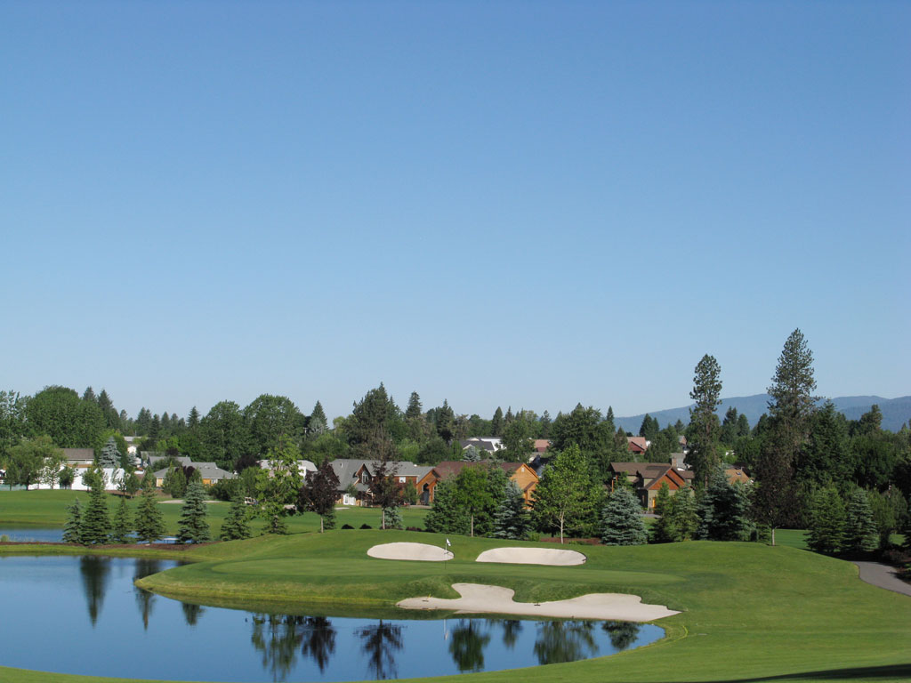 4th Hole at Hayden Lake Country Club