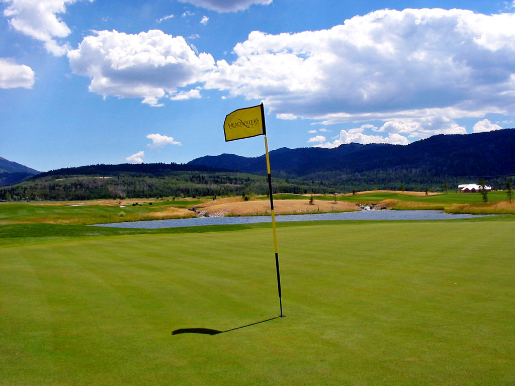 15th Hole at Headwaters at Teton Springs (301 Yard Par 4)