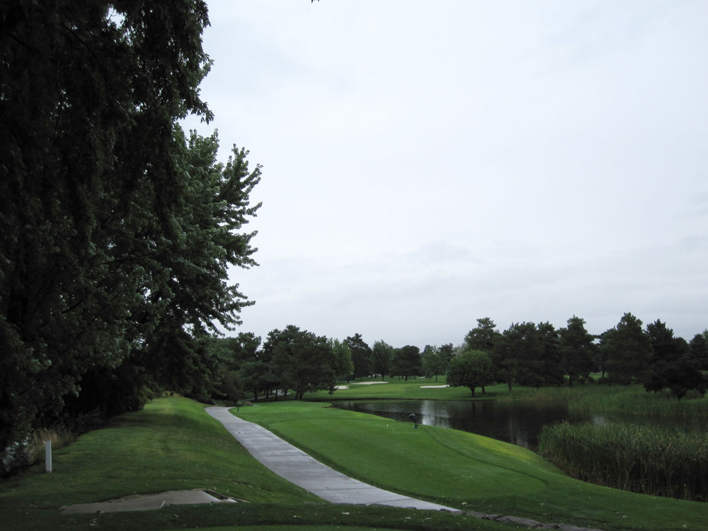 13th Hole at Hillcrest Country Club (182 Yard Par 3)