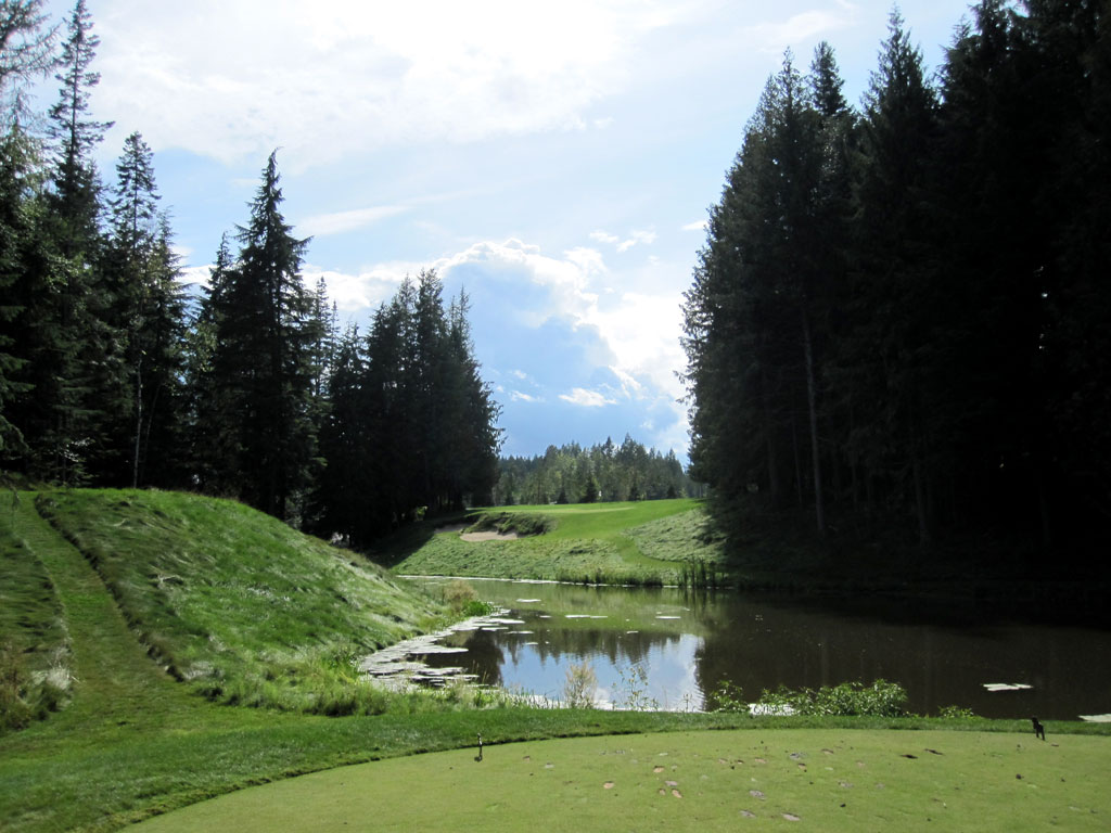 4th Hole at The Idaho Club (153 Yard Par 3)