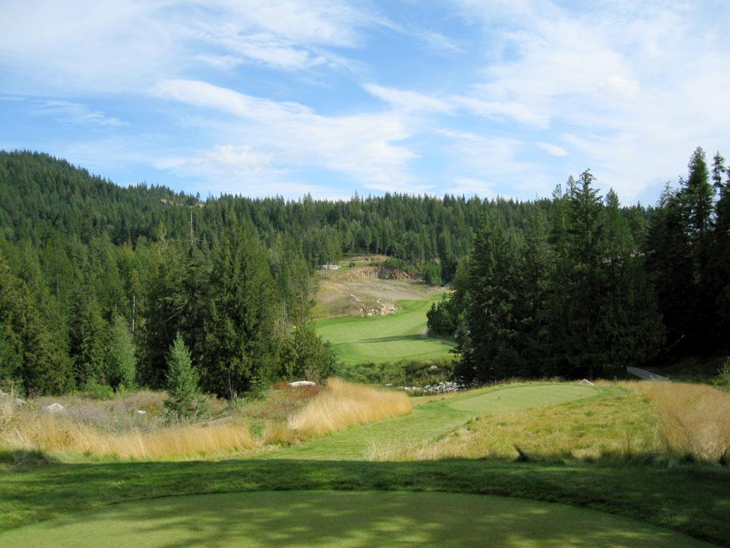 6th Hole at Idaho Club (439 Yard Par 4)