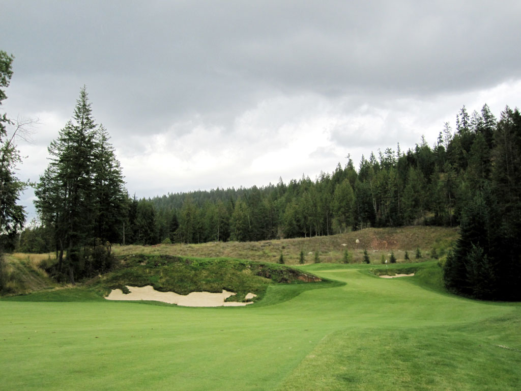 9th Hole at The Idaho Club (558 Yard Par 5)