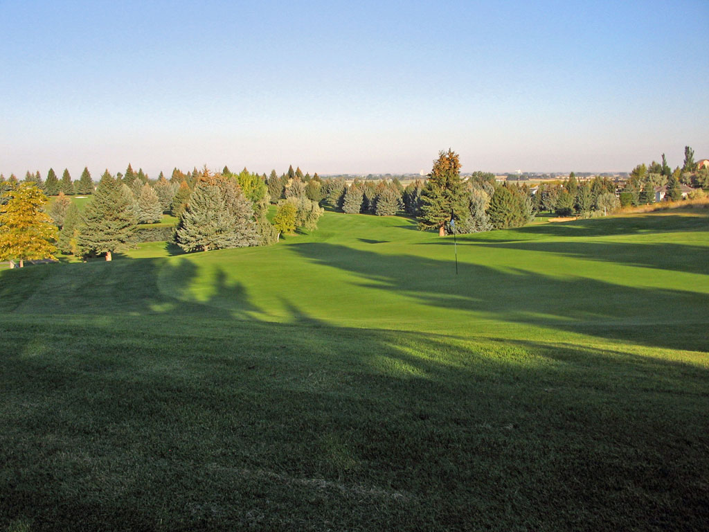 2nd Hole at Idaho Falls Country Club (502 Yard Par 5)